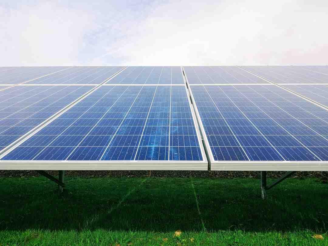 Quel sont les panneaux solaires ?
